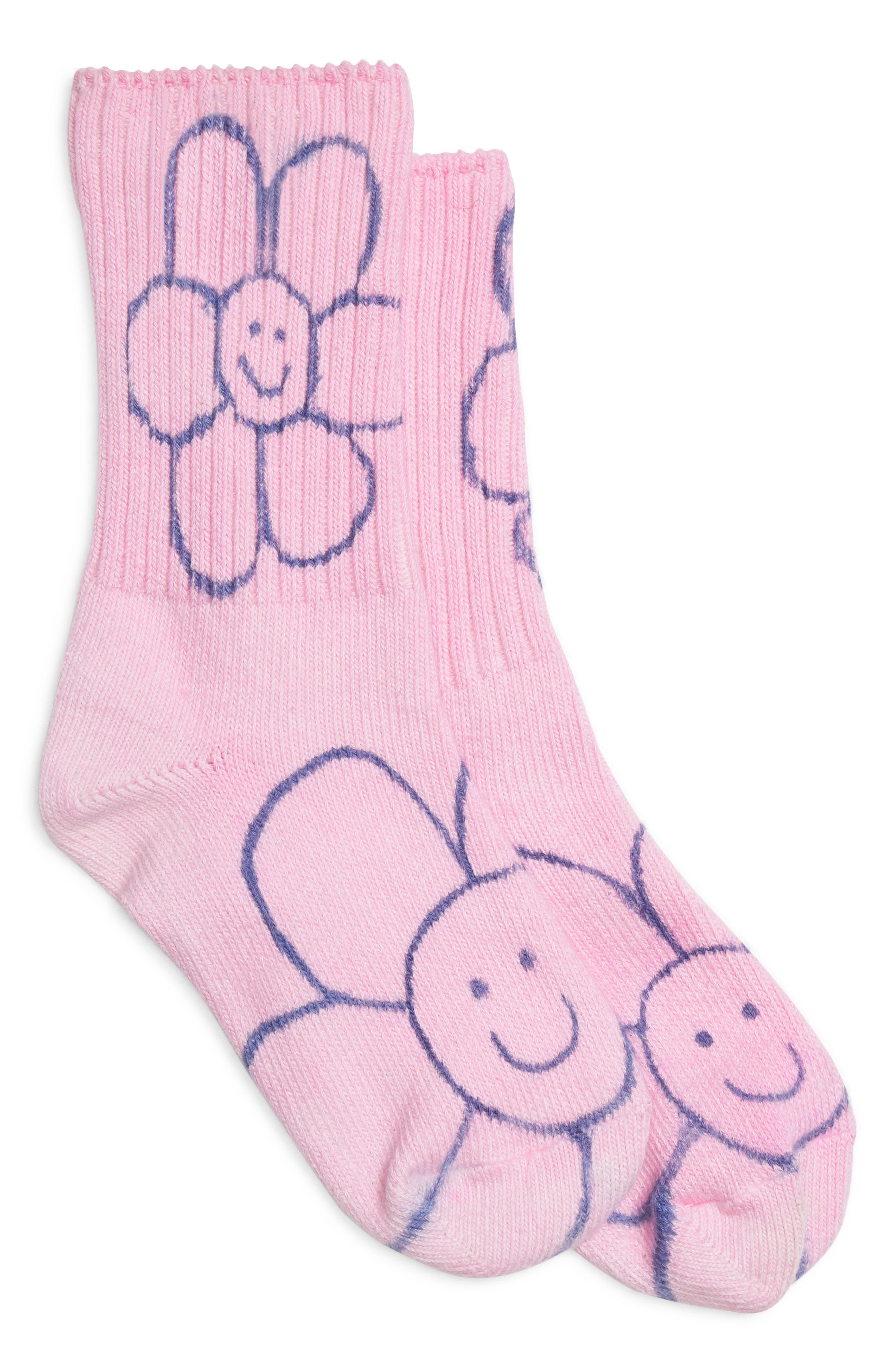 Happy Flowers Socks