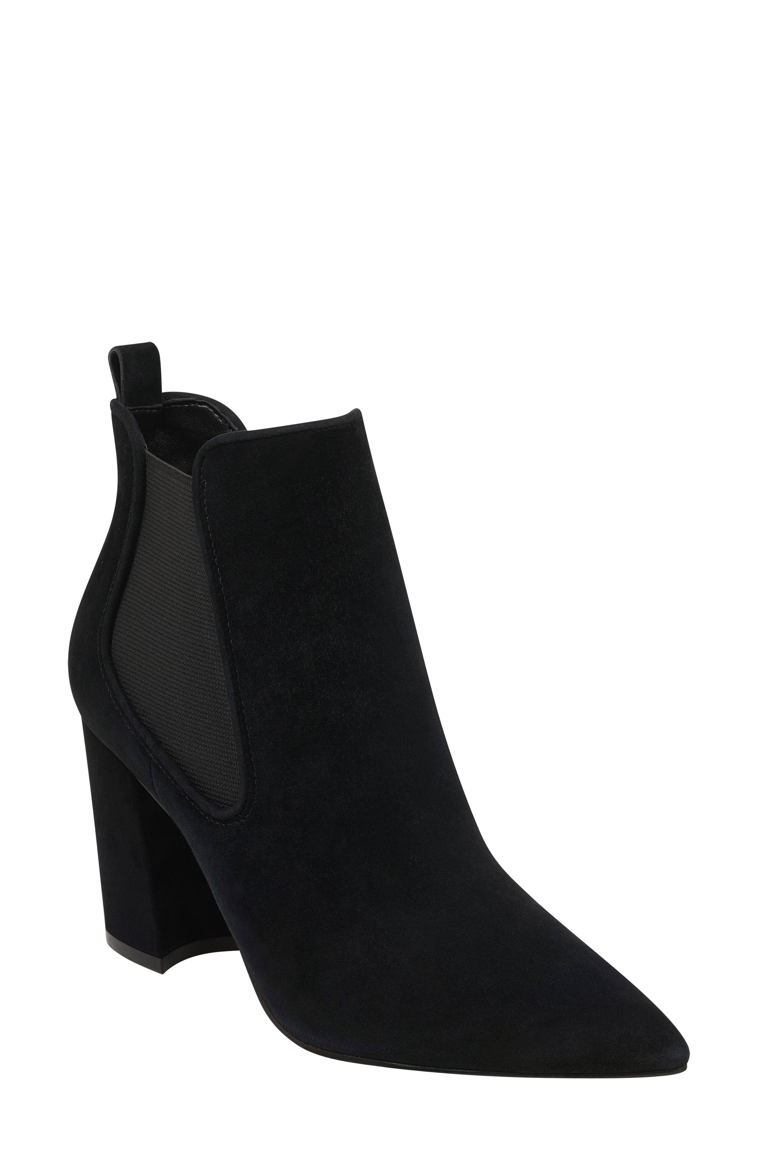 Marc Fisher Ltd Tacily Pointy Toe Bootie- Black