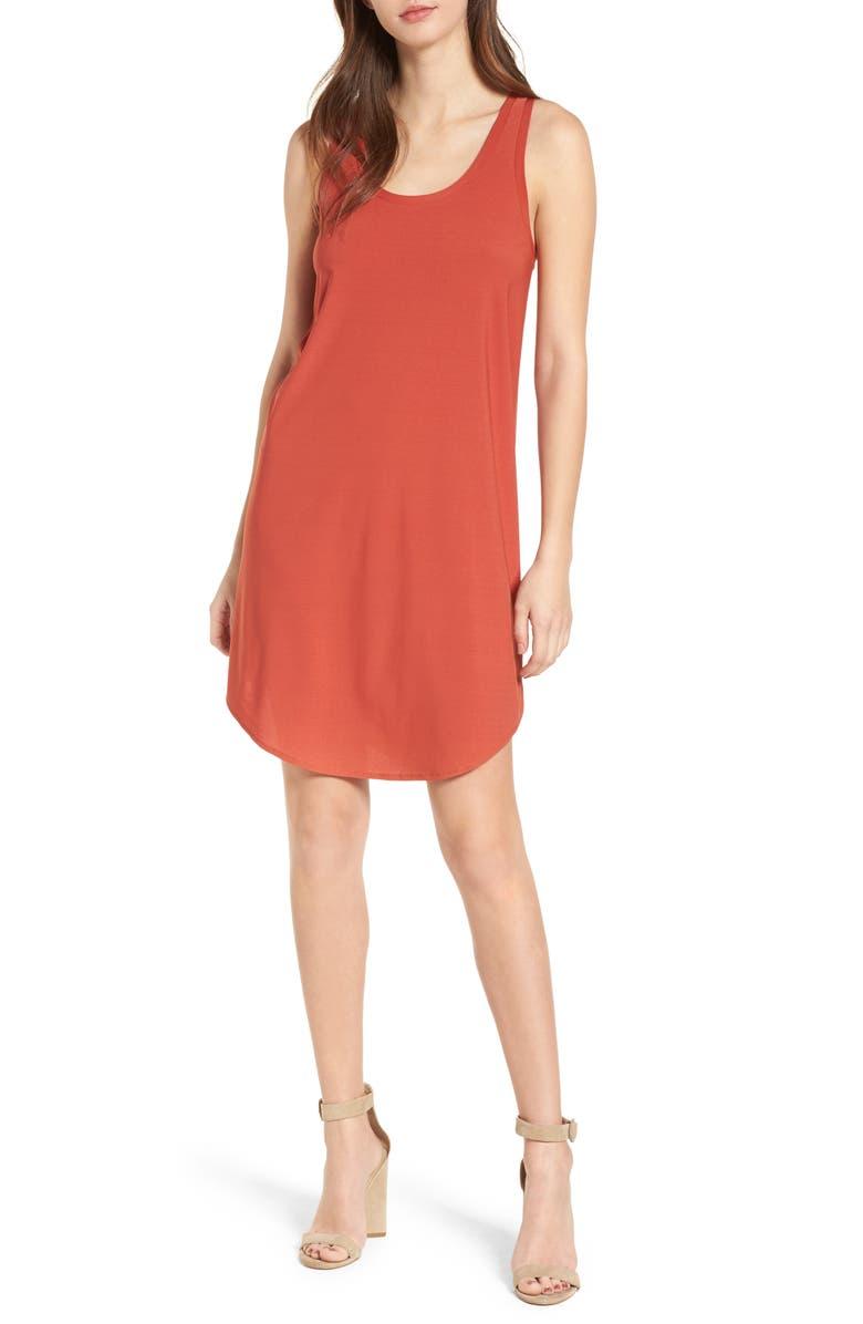 LEITH Tank Dress, Main, color, 221