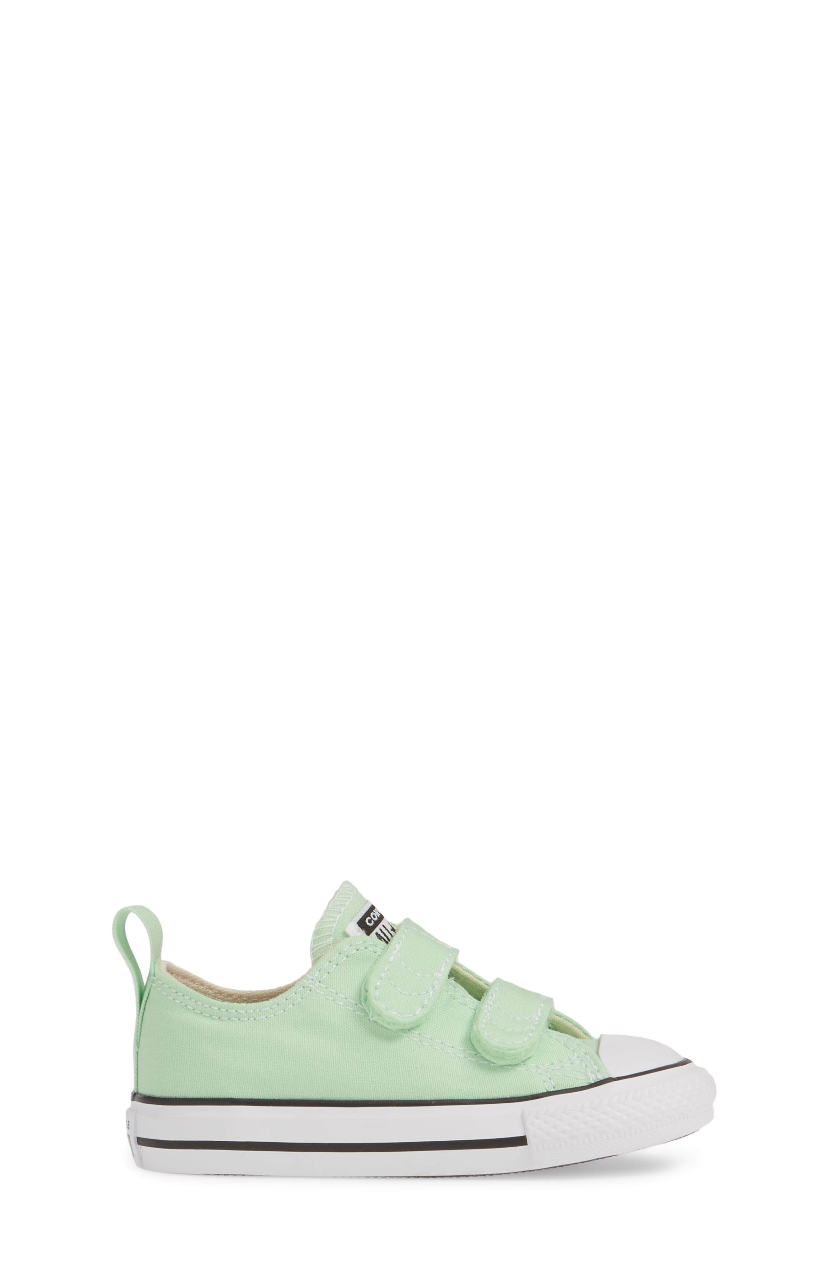 ,                             Chuck Taylor<sup>®</sup> 'Double Strap' Sneaker,                             Alternate thumbnail 3, color,                             LT. APHID GREEN