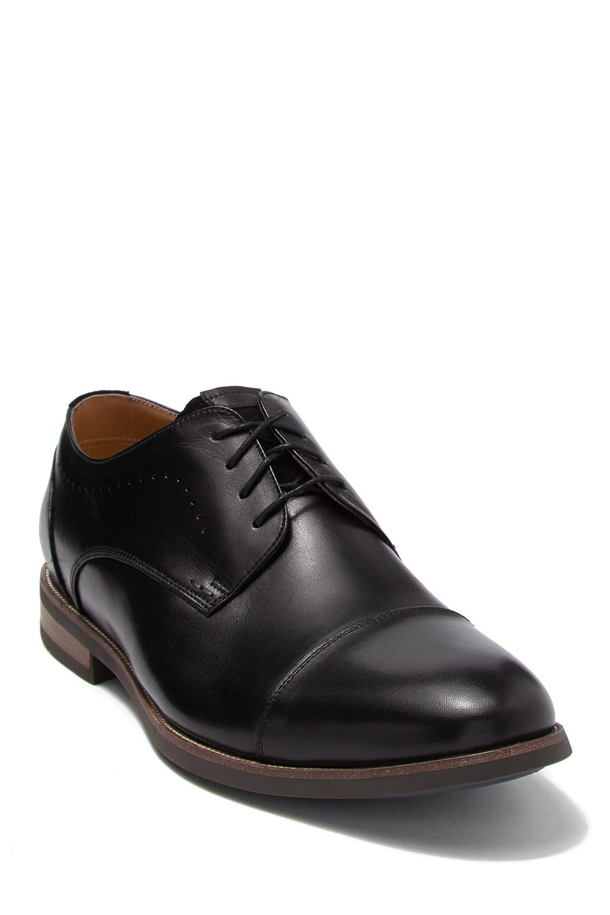 Image of Florsheim Upgrade Leather Cap Toe Derby