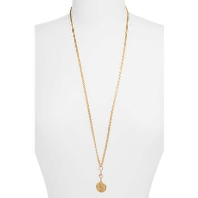 Ellie Vail Fiona Pyramid Pendant Long Necklace