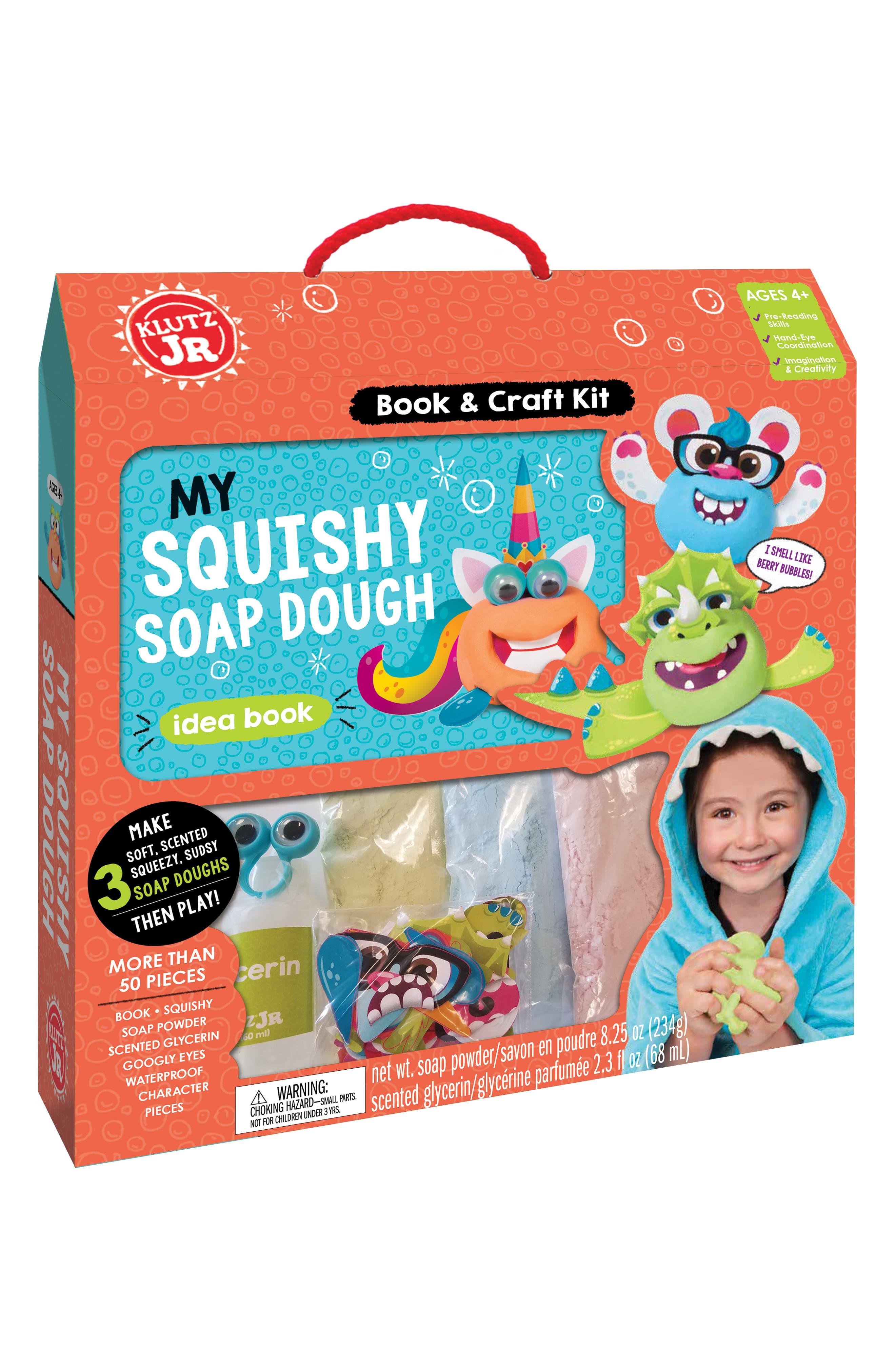 Boys Klutz My Squishy Soap Dough Kit