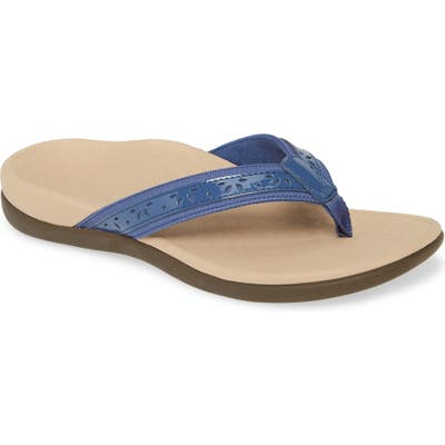 Vionic Casandra Flip Flop, Blue
