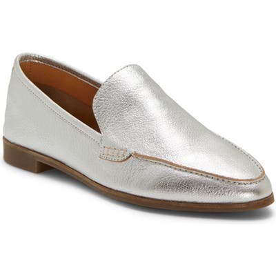 Lucky Brand Bejaz Loafer- Metallic