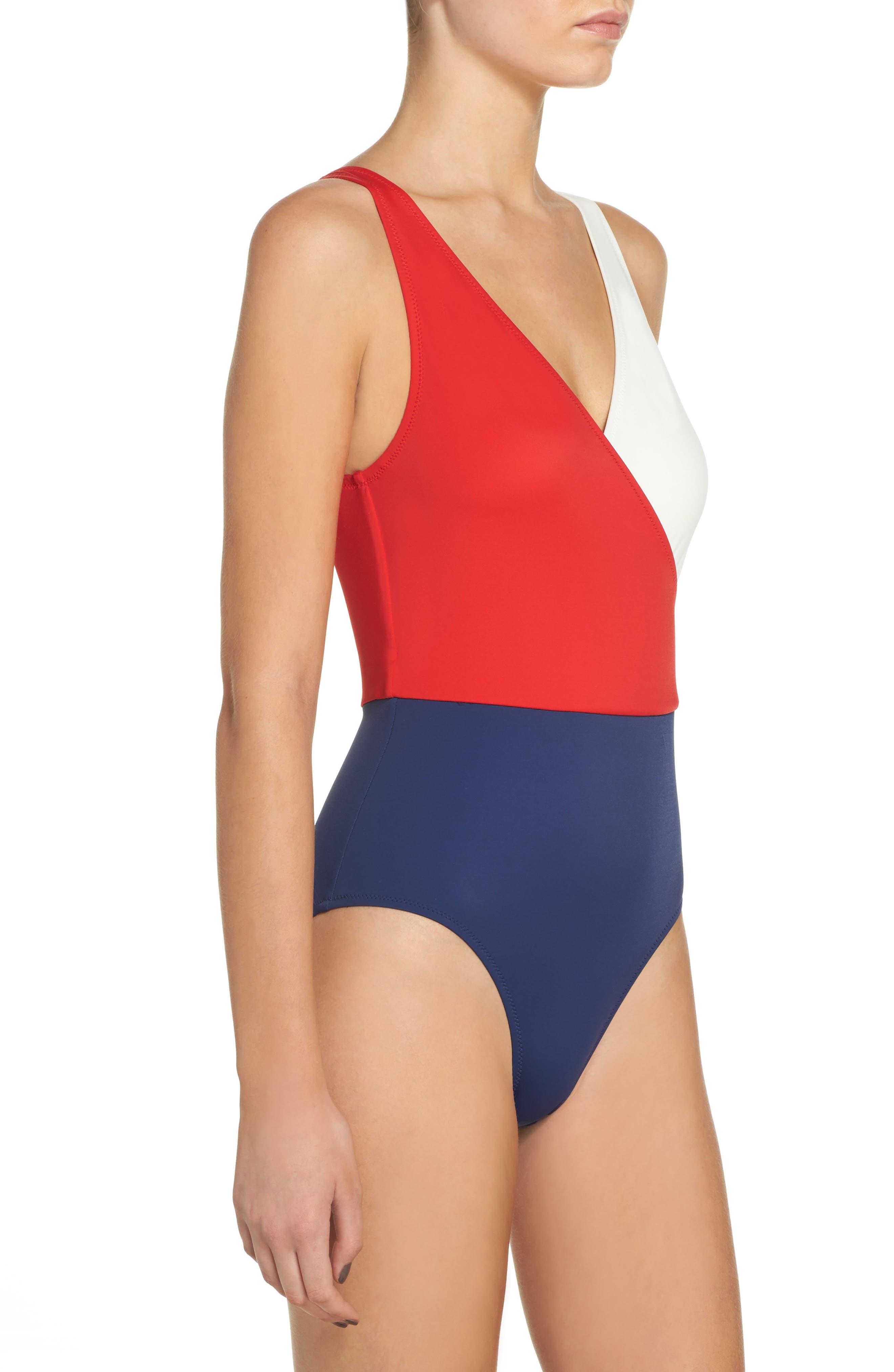 ,                             Ballerina One-Piece Swimsuit,                             Alternate thumbnail 9, color,                             461