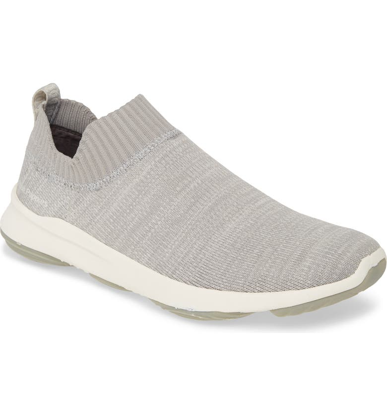 HUSH PUPPIES<SUP>®</SUP> Hush Puppies Free Slip-On Sneaker, Main, color, COOL GREY KNIT