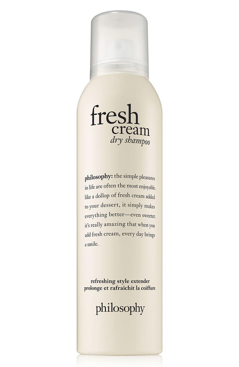 PHILOSOPHY fresh cream dry shampoo, Main, color, NO COLOR