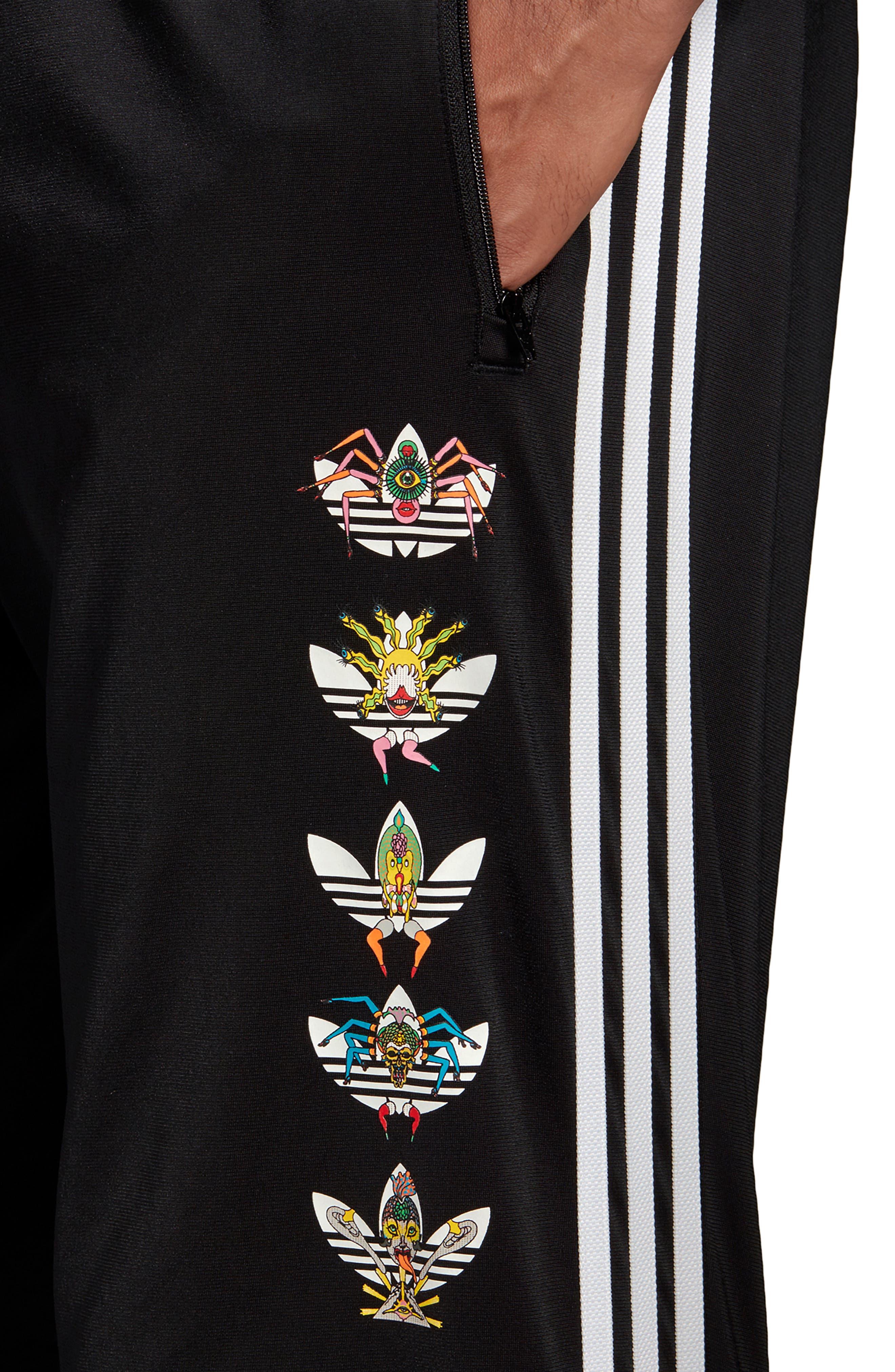,                             Tanaami Logo Track Pants,                             Alternate thumbnail 5, color,                             BLACK
