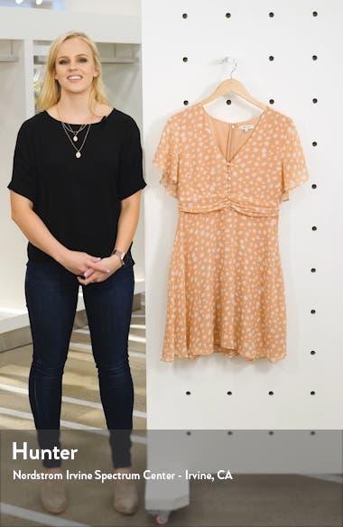 Star Shower Ruched Waist Minidress, sales video thumbnail