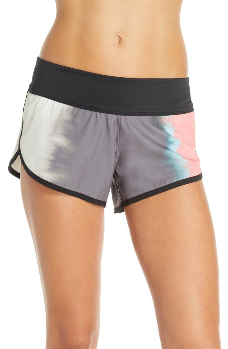 HURLEY Phantom Gradient Board Shorts, Main, color, GUNSMOKE