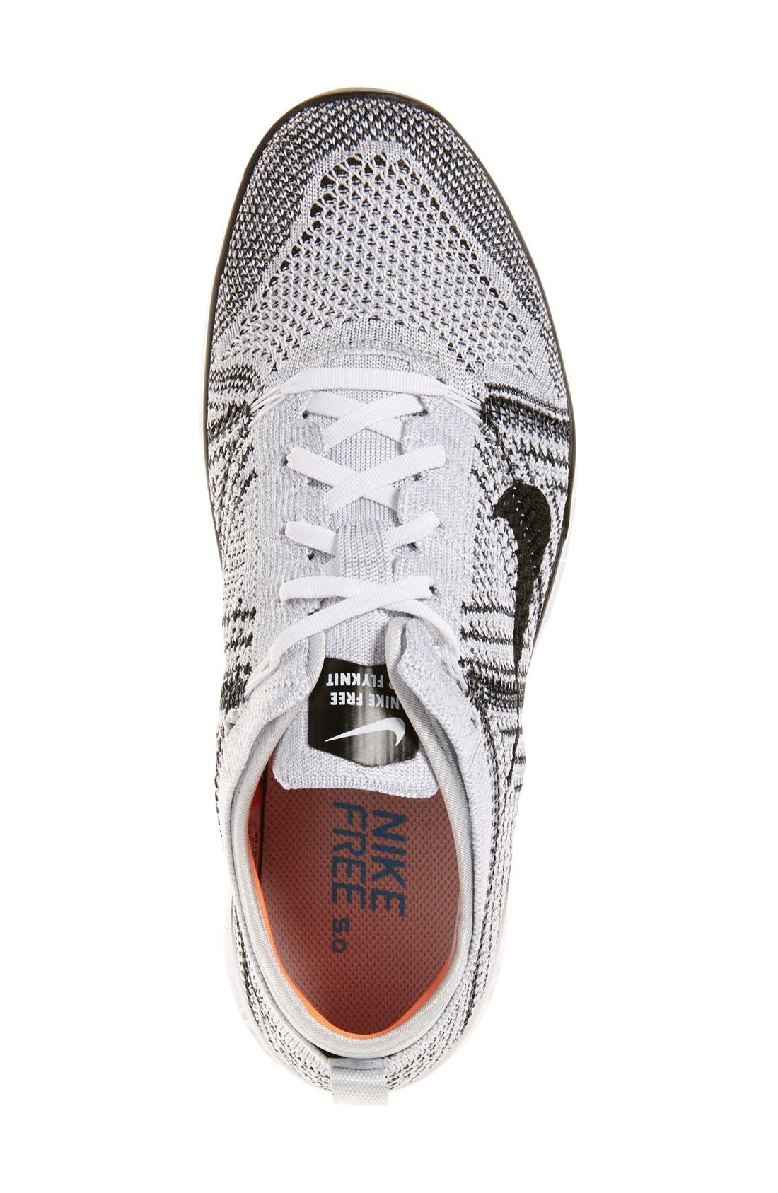 ,                             'Free Flyknit 5.0 TR' Training Shoe,                             Alternate thumbnail 14, color,                             100