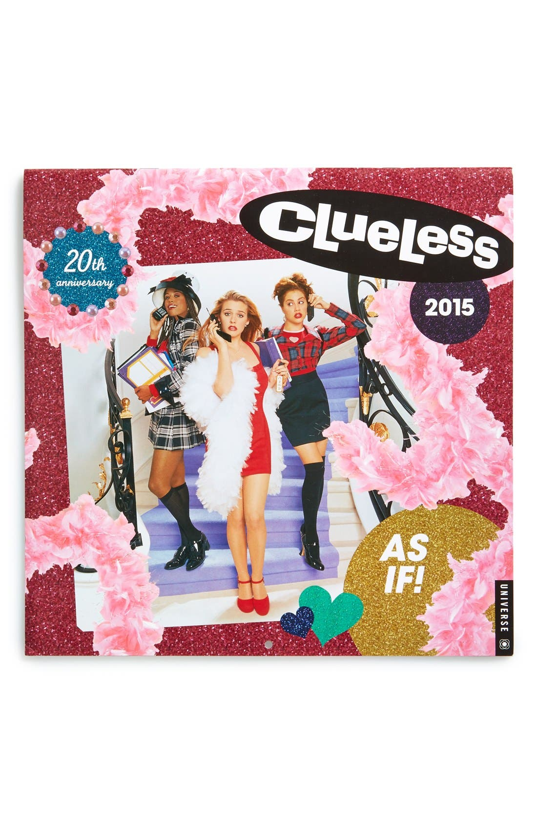 ,                             Universe Publishing 'Clueless - 20th Anniversary' 2015 Wall Calendar,                             Main thumbnail 1, color,                             650