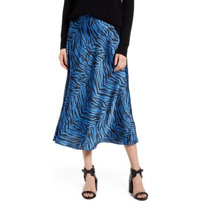 Rebecca Minkoff Davis Leopard Print Midi Skirt