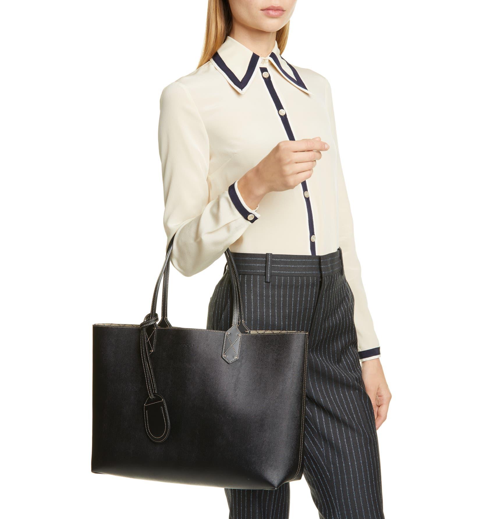 6e2ca18c8f5654 Gucci Medium Turnaround Reversible Leather Tote | Nordstrom
