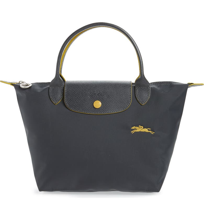 LONGCHAMP Le Pliage Club Tote, Main, color, GUNMETAL