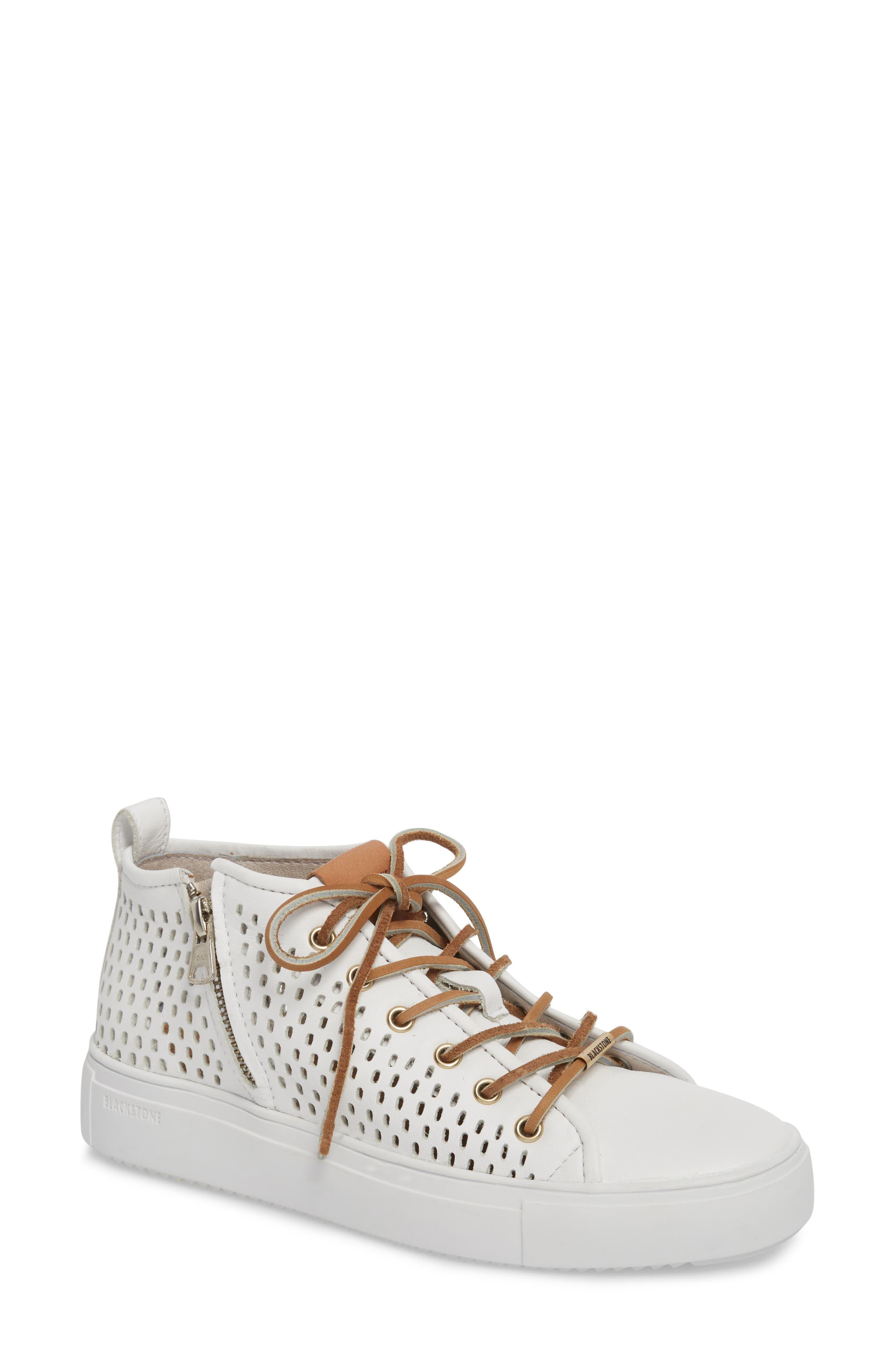 Blackstone Pl88 Zipper Sneaker White