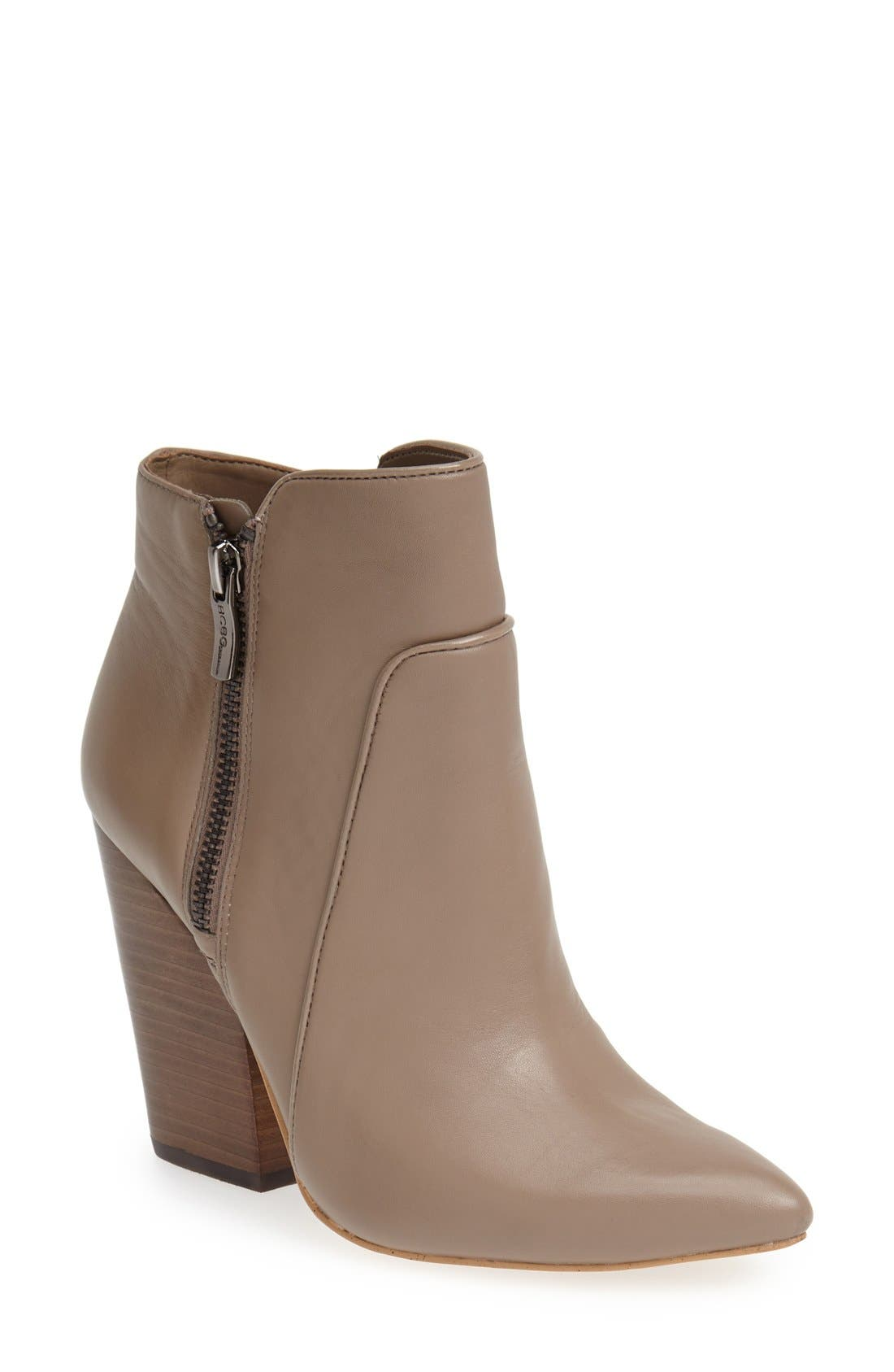 ,                             'Jules' Pointy Toe Leather Bootie,                             Main thumbnail 5, color,                             251