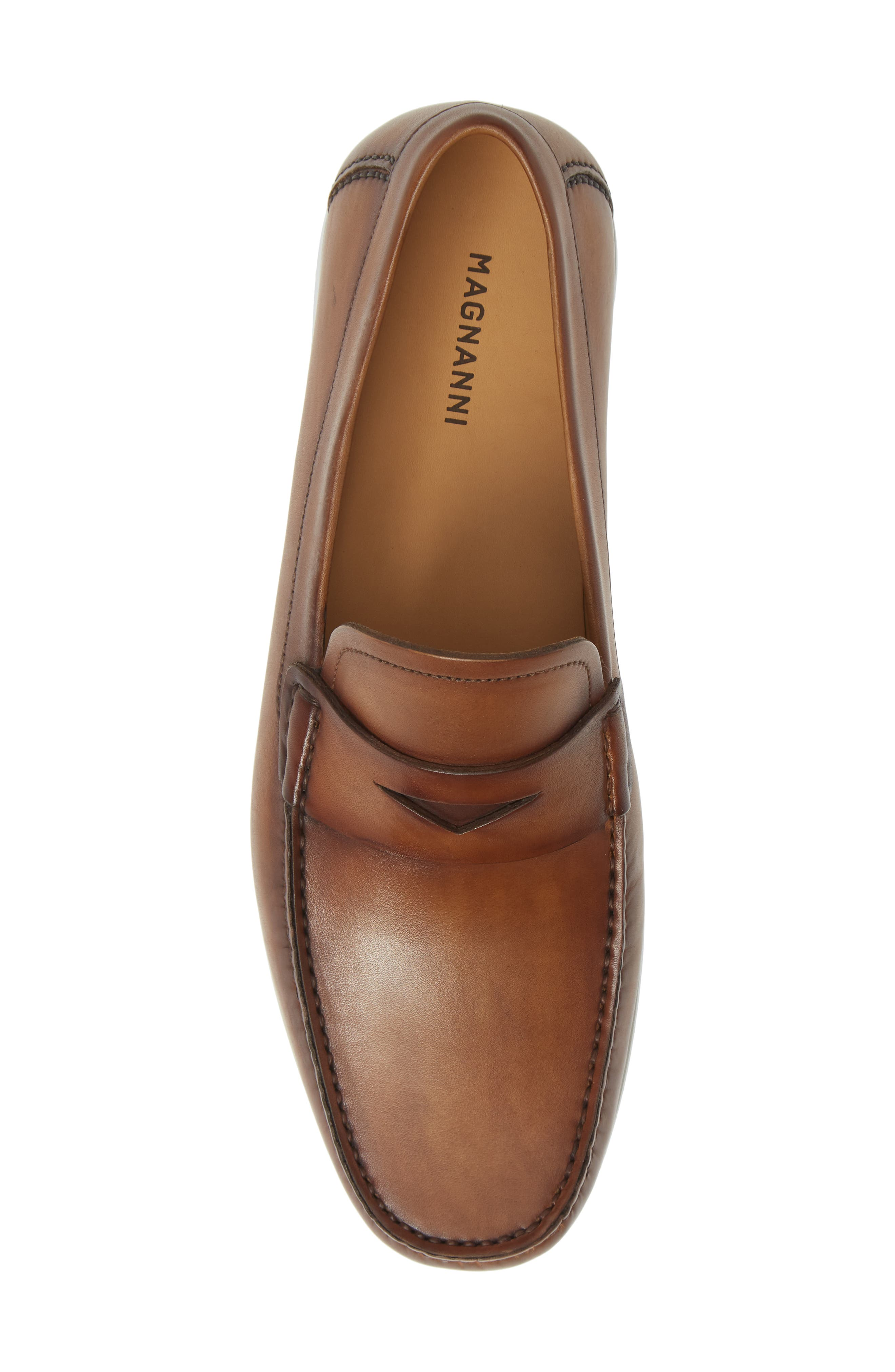 ,                             Laguna Penny Loafer,                             Alternate thumbnail 5, color,                             TOBACCO LEATHER