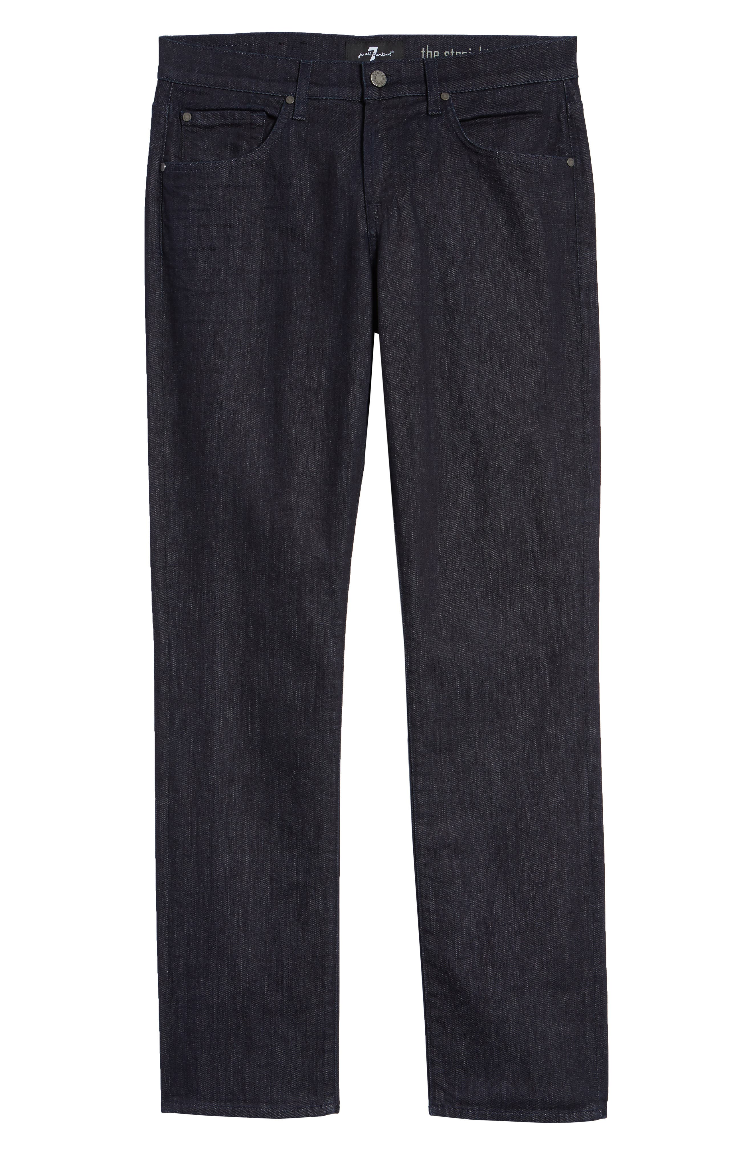 ,                             The Straight - Luxe Performance Slim Straight Leg Jeans,                             Alternate thumbnail 2, color,                             DEEP WELL