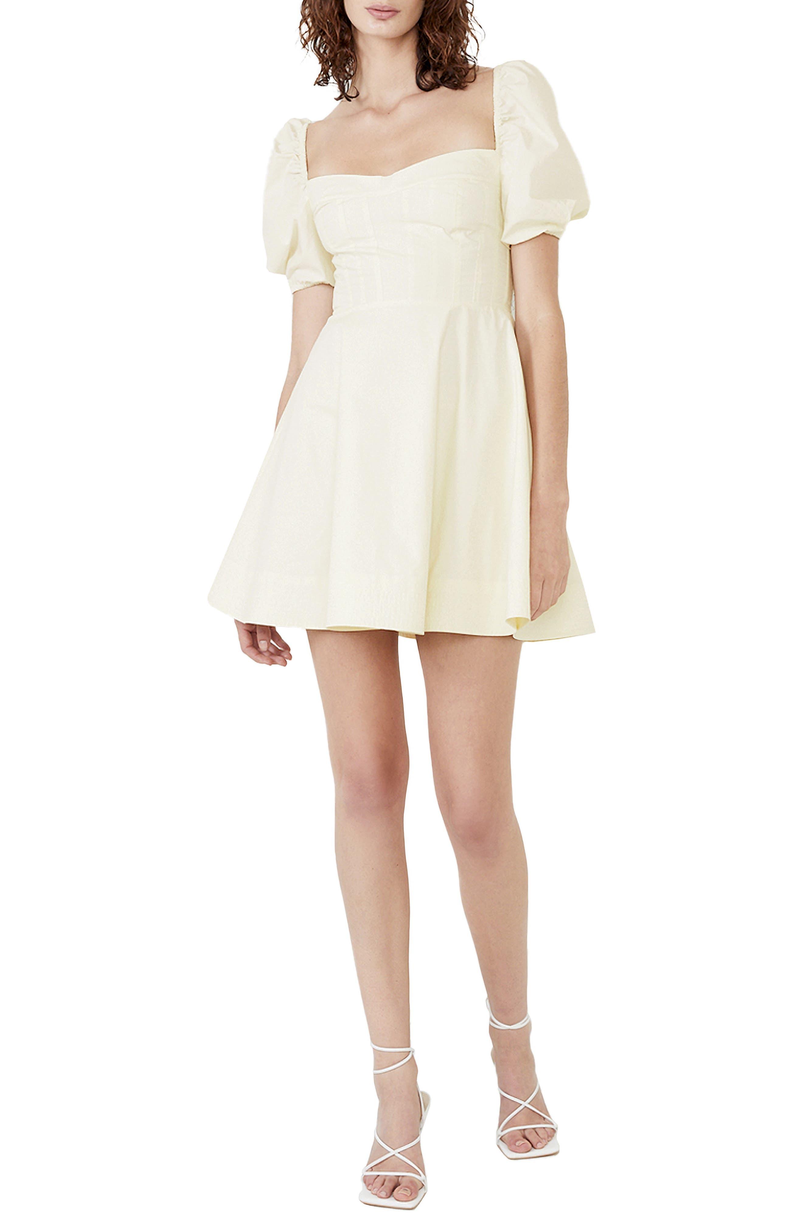The Corset Staple Minidress