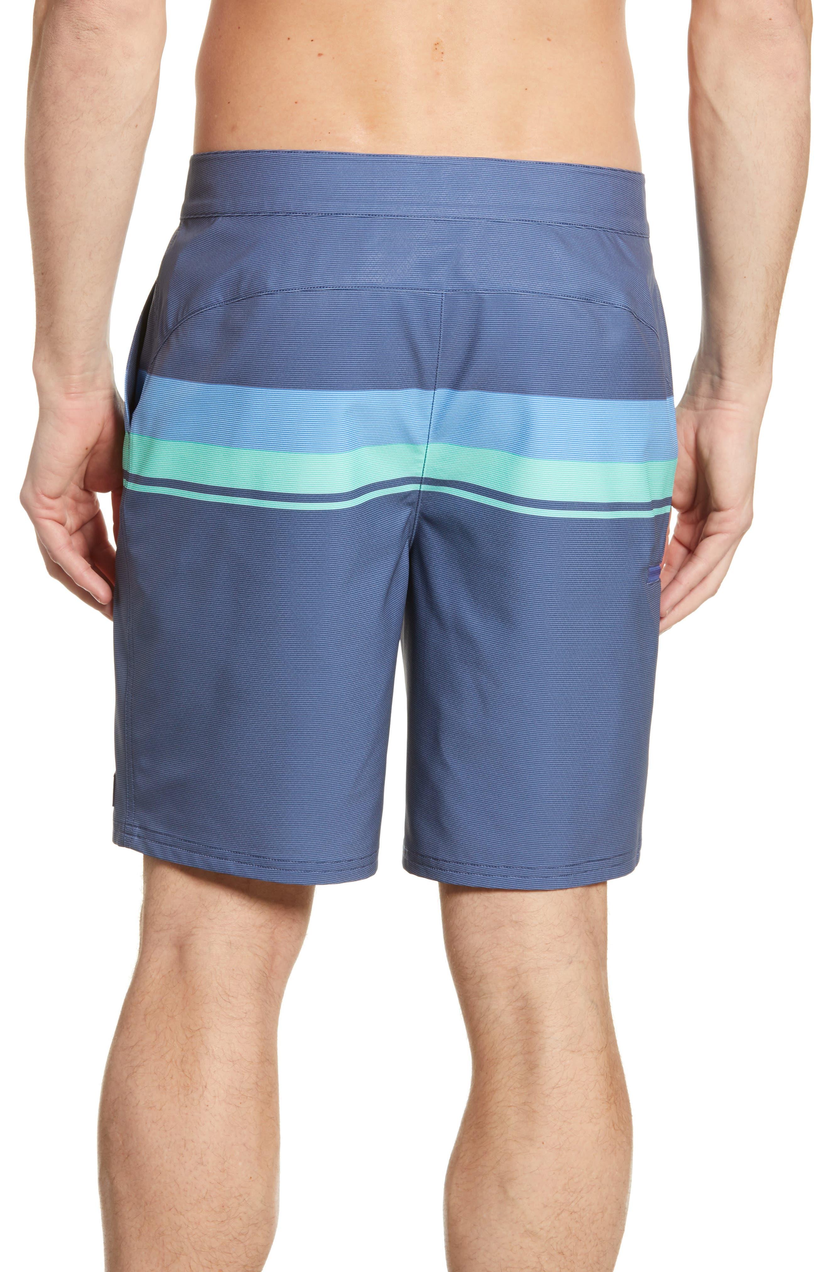 Vineyard Vines Beachwear Striped Board Shorts