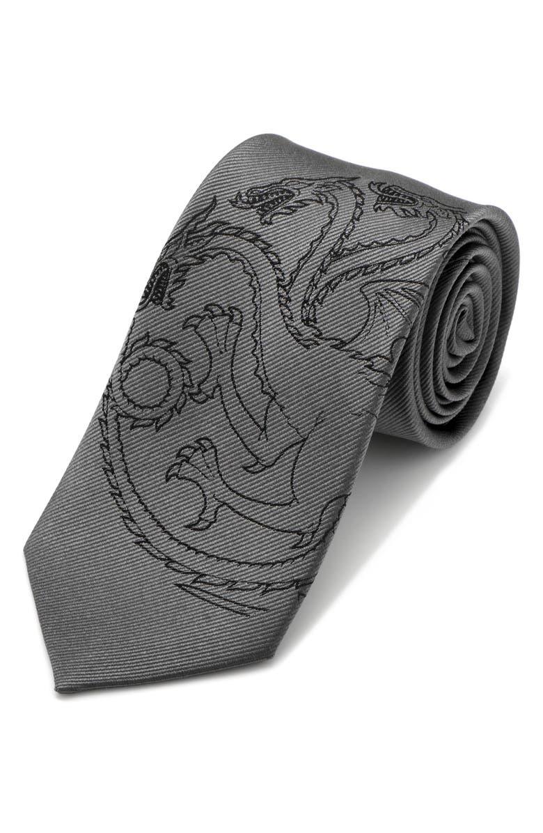 CUFFLINKS, INC. Game of Thrones Targaryen Silk Tie, Main, color, 020