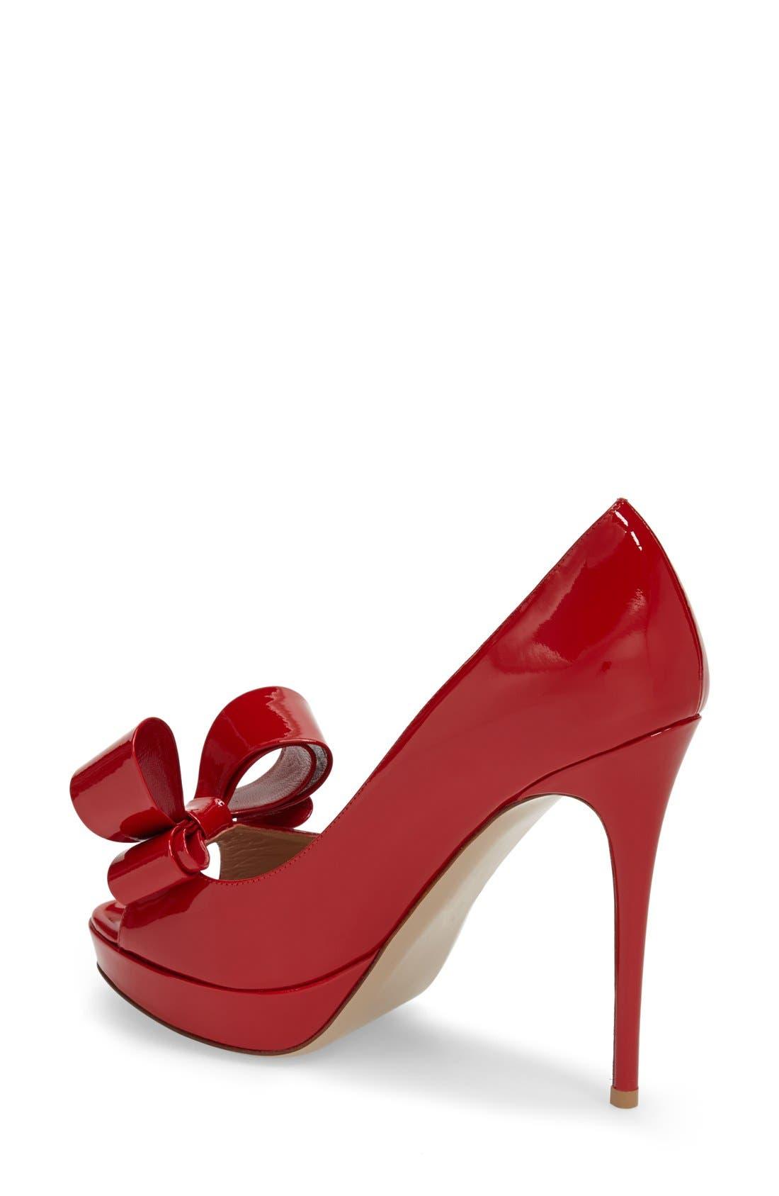 ,                             Couture Bow Platform Pump,                             Alternate thumbnail 23, color,                             600