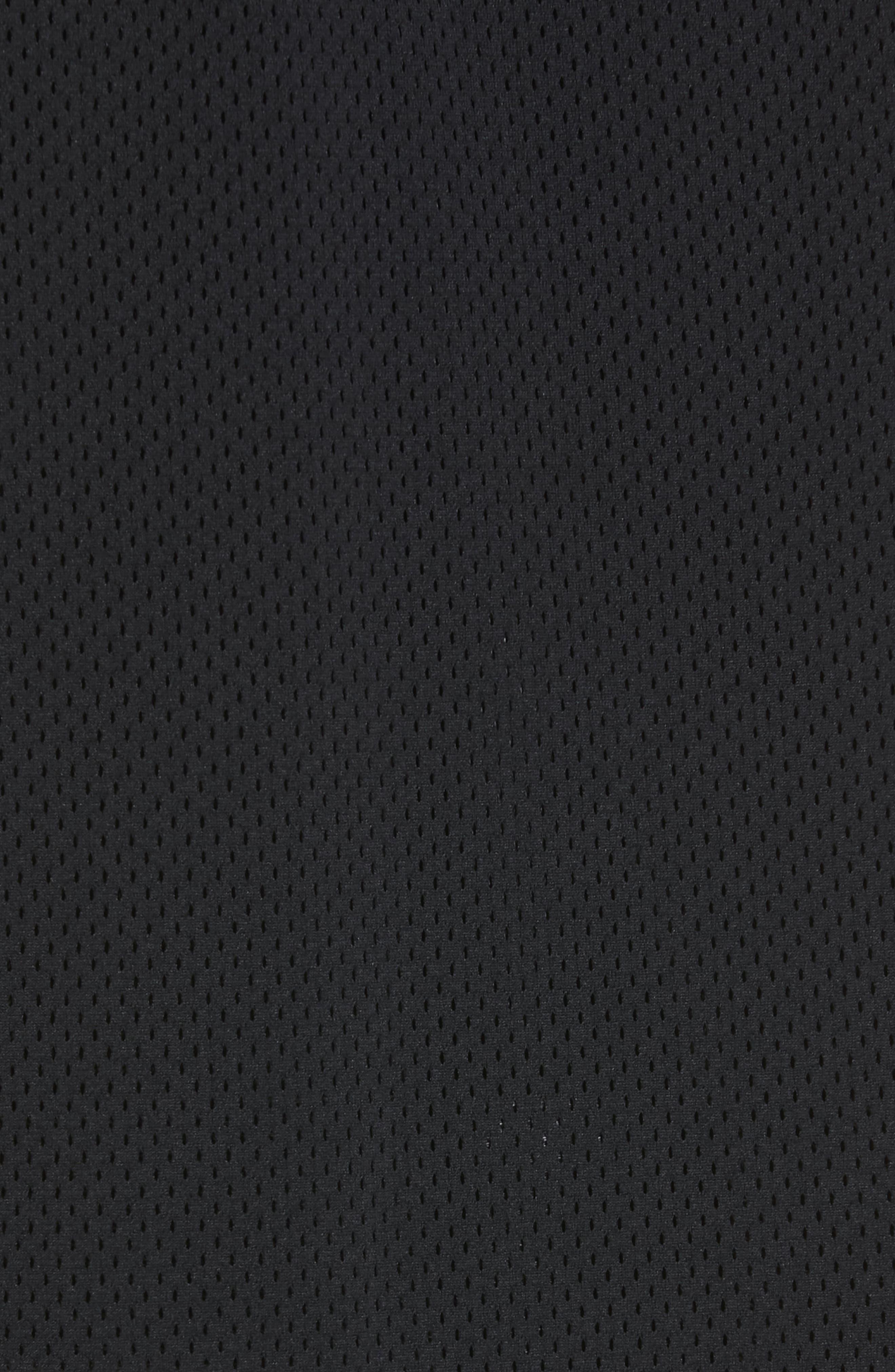 ,                             Denim x Alexander Wang Game Mesh Back Denim Jacket,                             Alternate thumbnail 5, color,                             GREY AGED