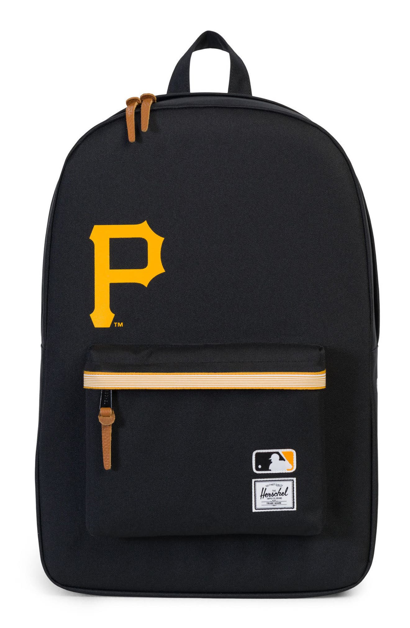 Herschel Supply Co. Heritage Pittsburgh Pirates Backpack - Black