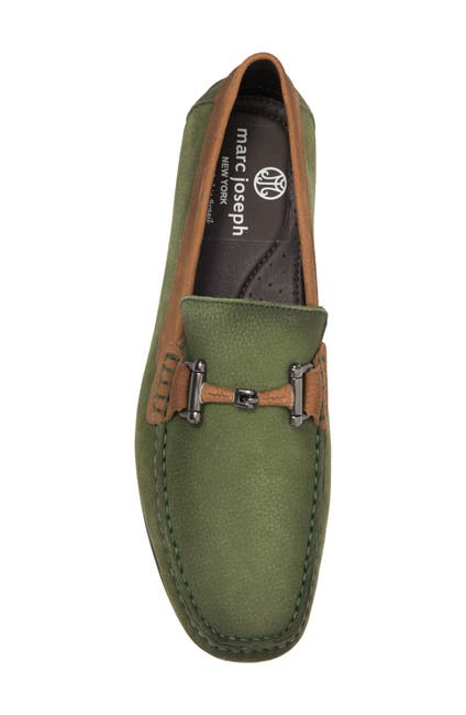 Image of Marc Joseph New York Lincoln Leather Bit Driver Loafer