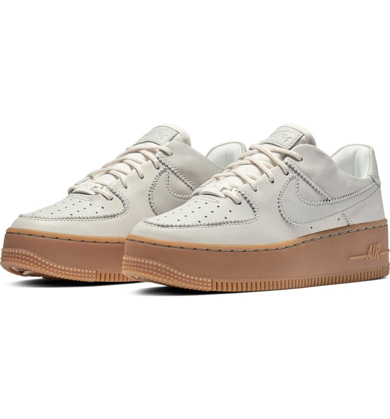 32aa141ff99f6 Air Force 1 Sage Low LX Sneaker, Main, color, PALE IVORY/ LIGHT