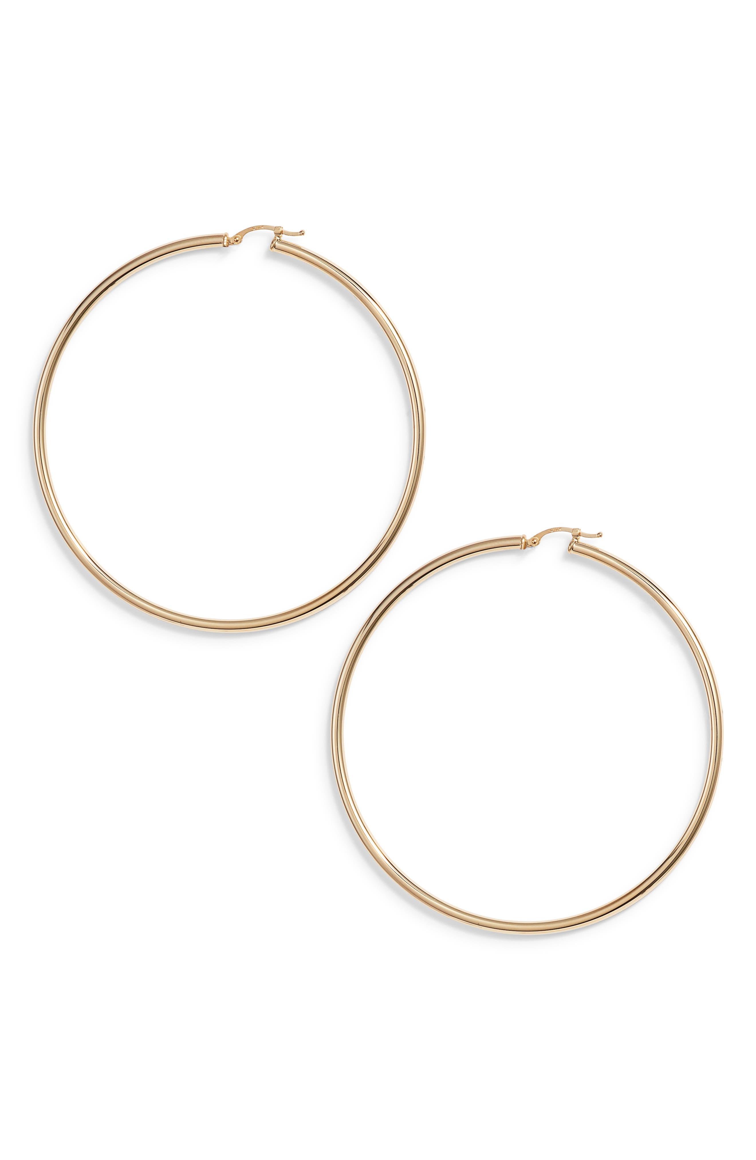 Giant Hoop Earrings