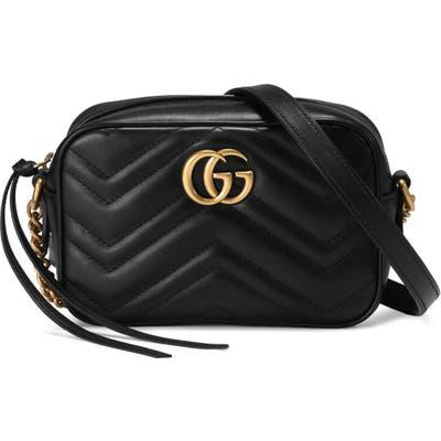 Gucci Gg Marmont 2.0 Matelasse Leather Shoulder Bag -