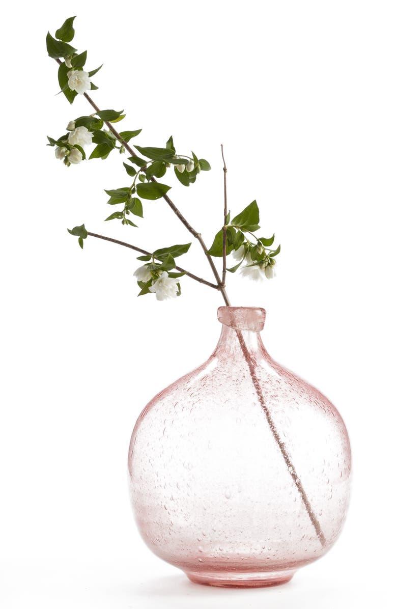 TREASURE & BOND Large Glass Vase, Main, color, 650
