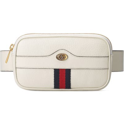Gucci Ophidia Iphone Belt Bag - White