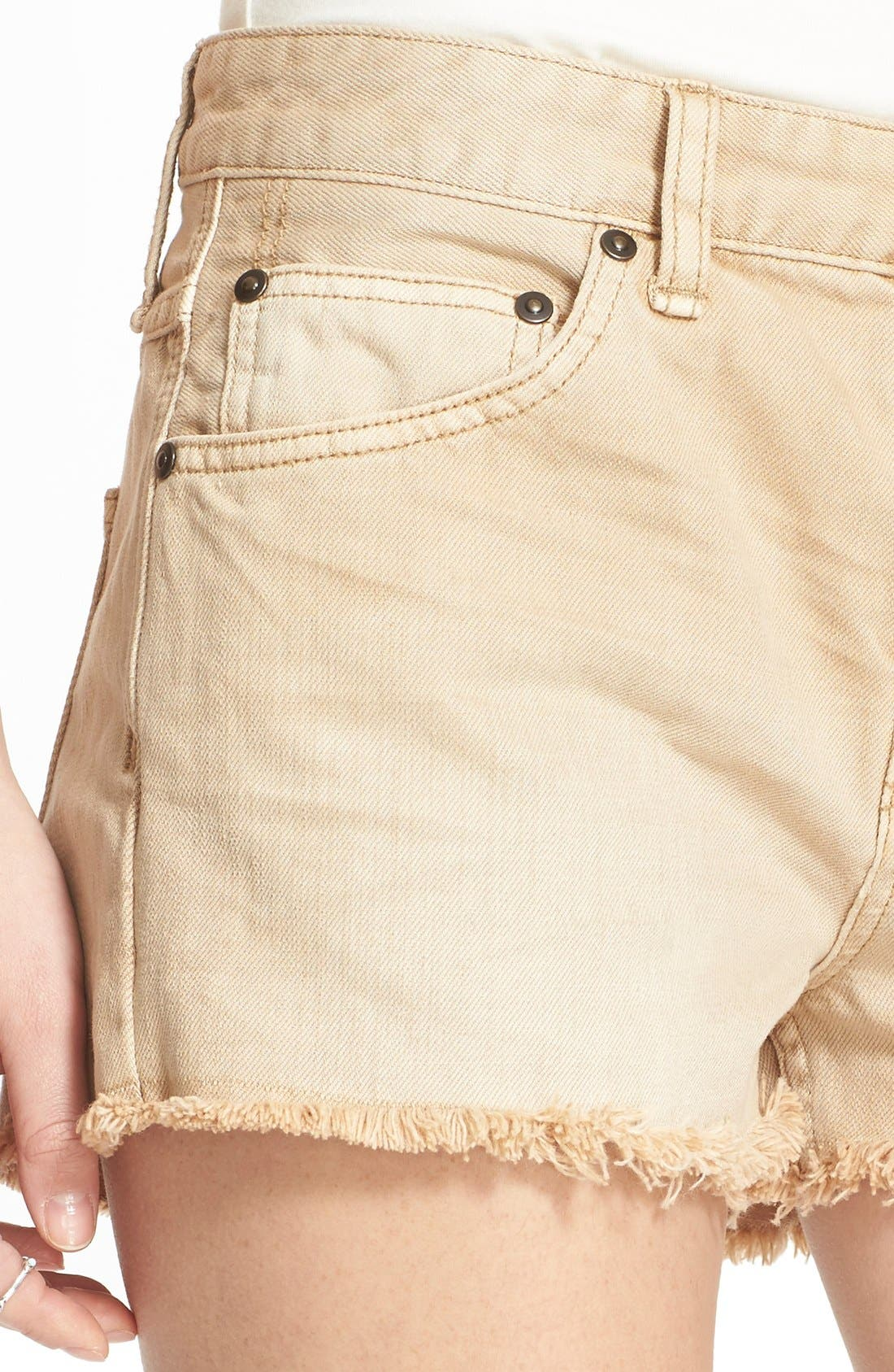 ,                             'Uptown' Denim Shorts,                             Alternate thumbnail 13, color,                             250