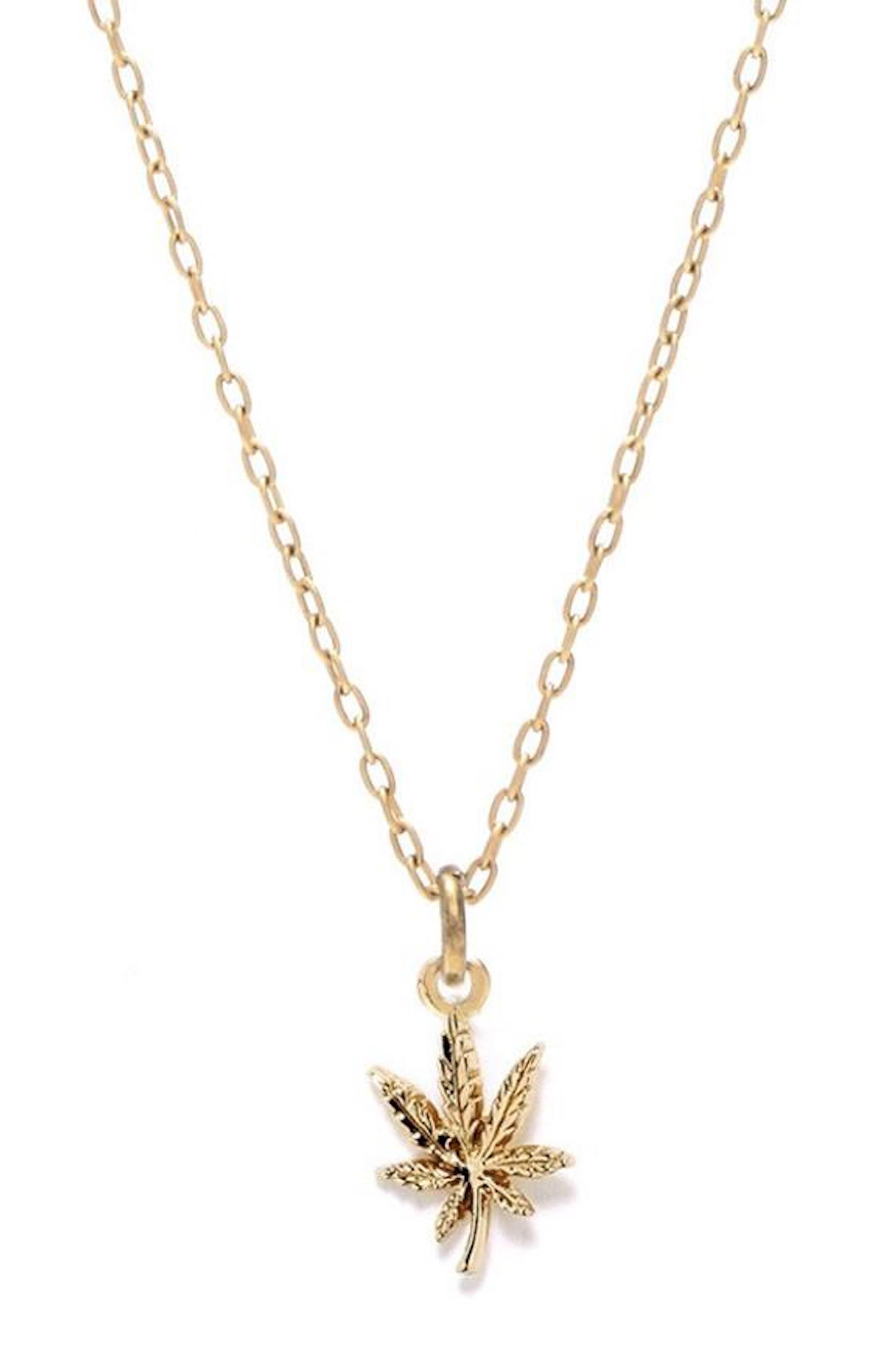 Mary Jane Pendant Necklace