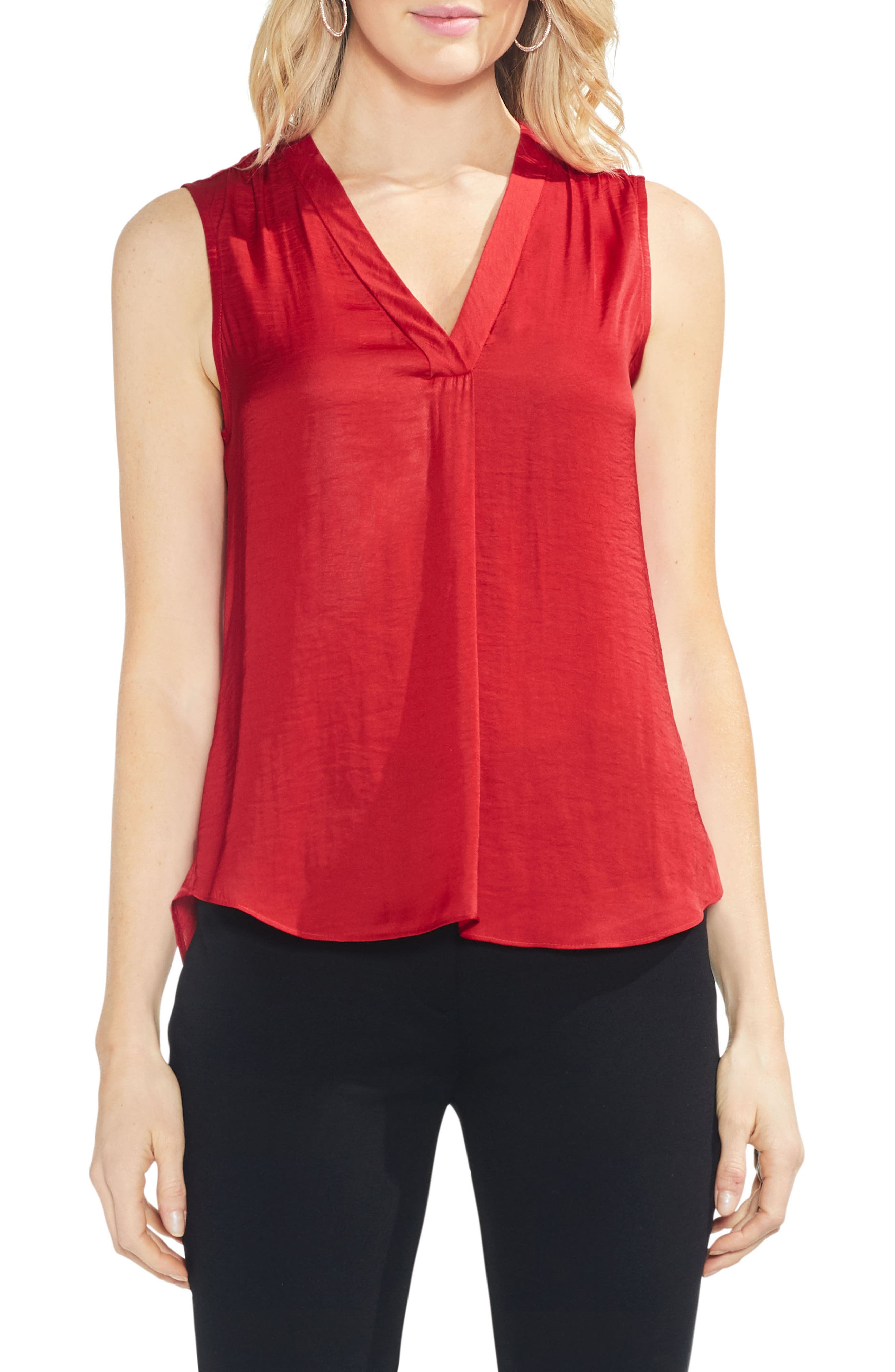 ,                             Rumpled Satin Blouse,                             Main thumbnail 212, color,                             606