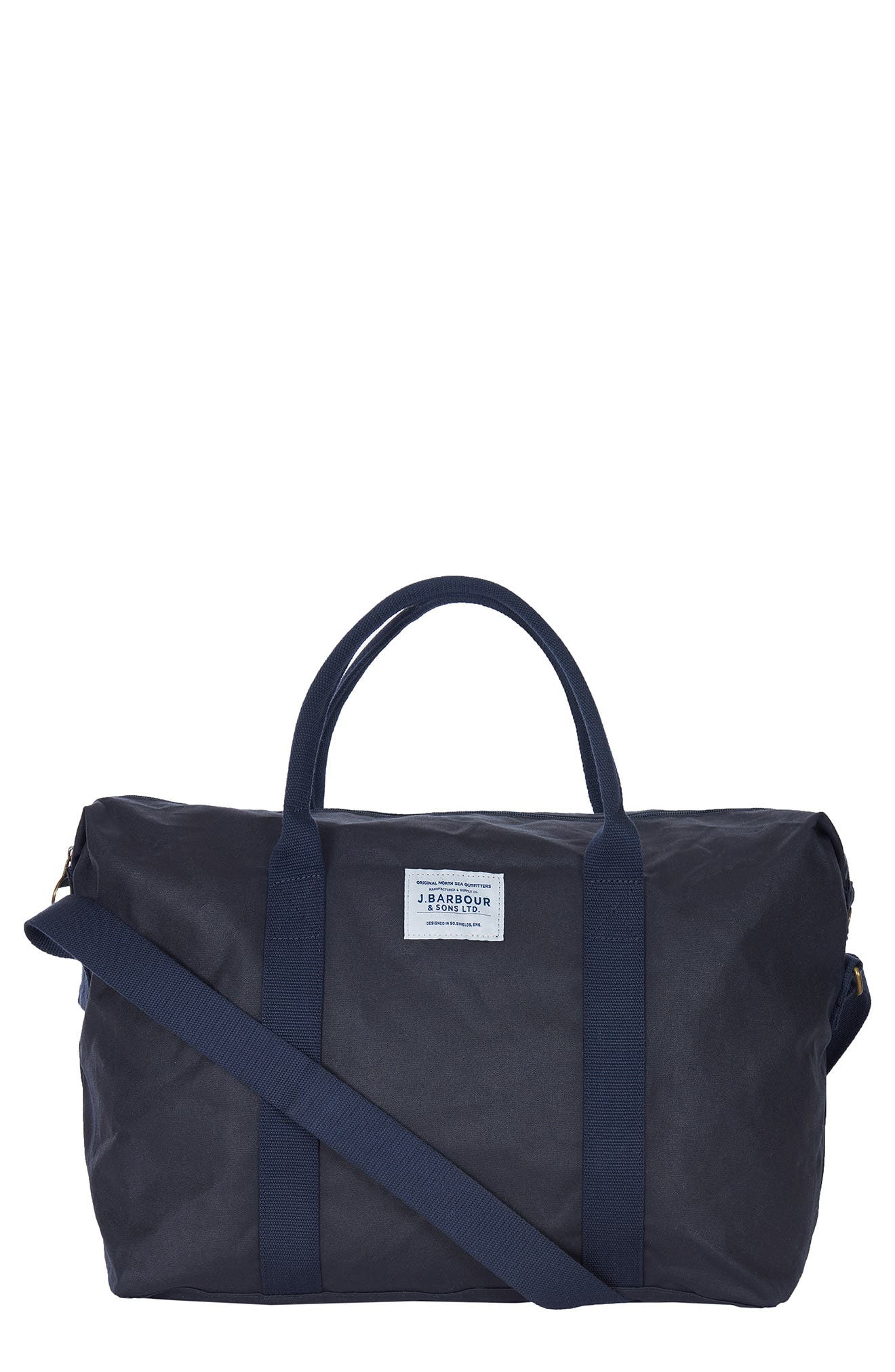 Eadan Waxed Cotton Duffle Bag