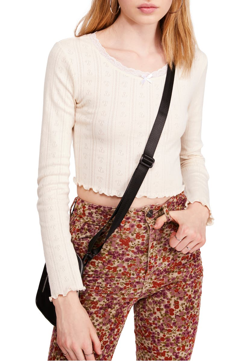 Tulip Pointelle Top by Bdg Urban Outfitters