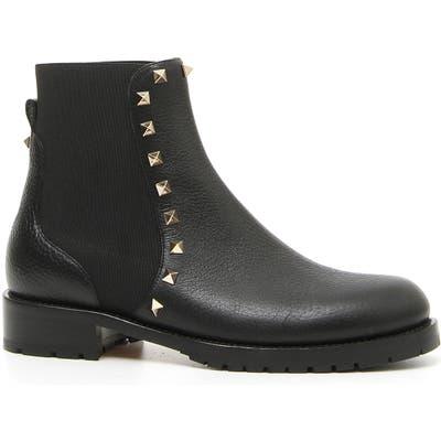 Valentino Garavani Rockstud Chelsea Boot, Black