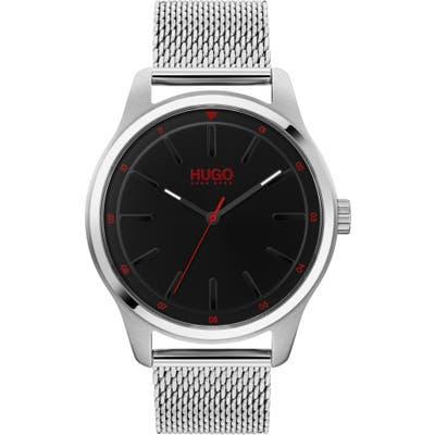 Hugo Dare Mesh Strap Watch, 42mm