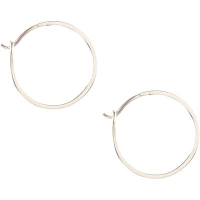 Kris Nations Small Hoop Earrings