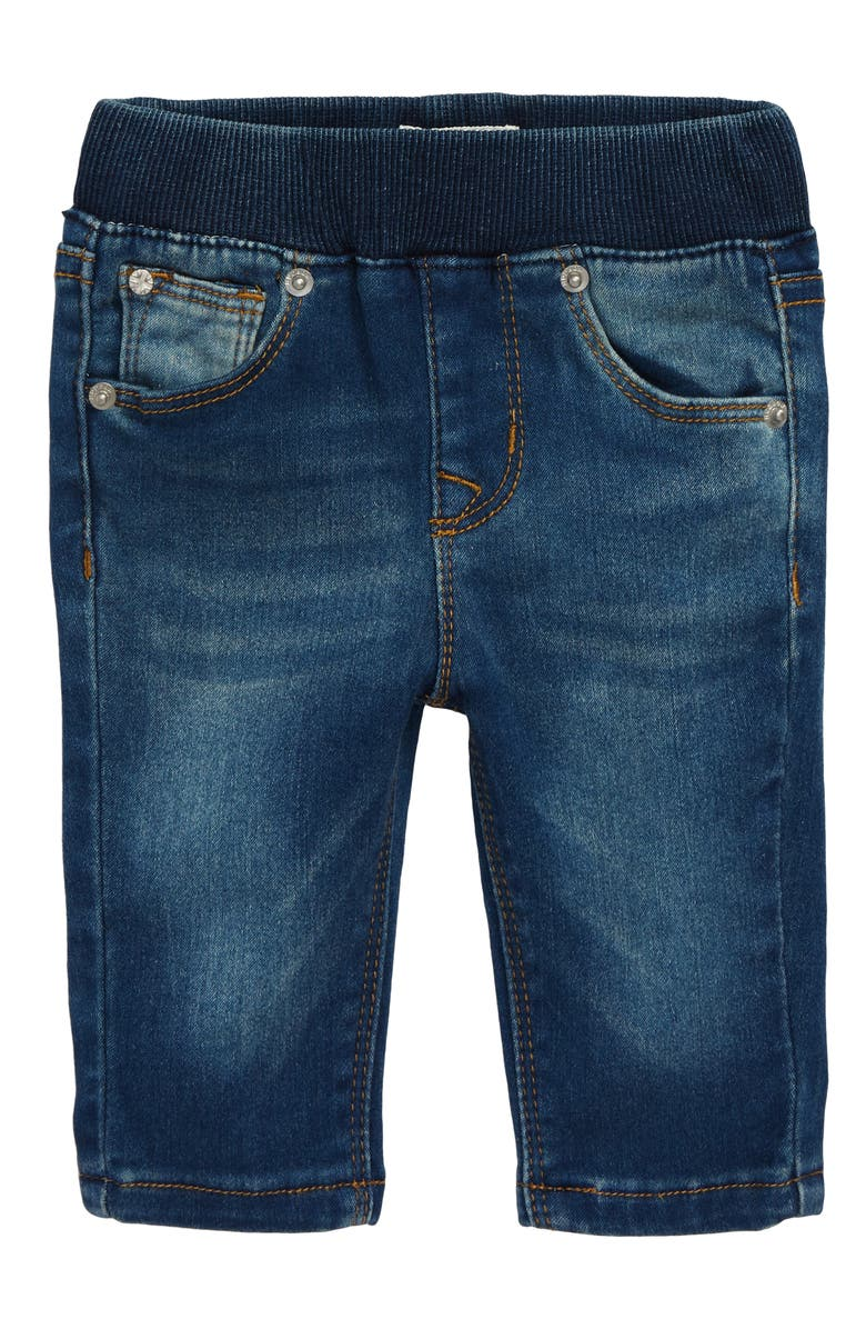 HUDSON KIDS Rosie Pull On Skinny Ankle Jeans, Main, color, MELLOW BLUE