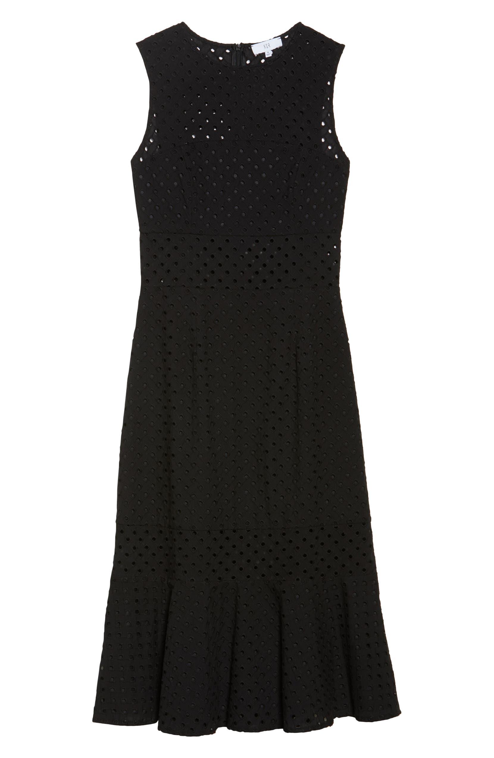 7fd5dfabdd86 NSR Taylor Eyelet Midi Dress | Nordstrom