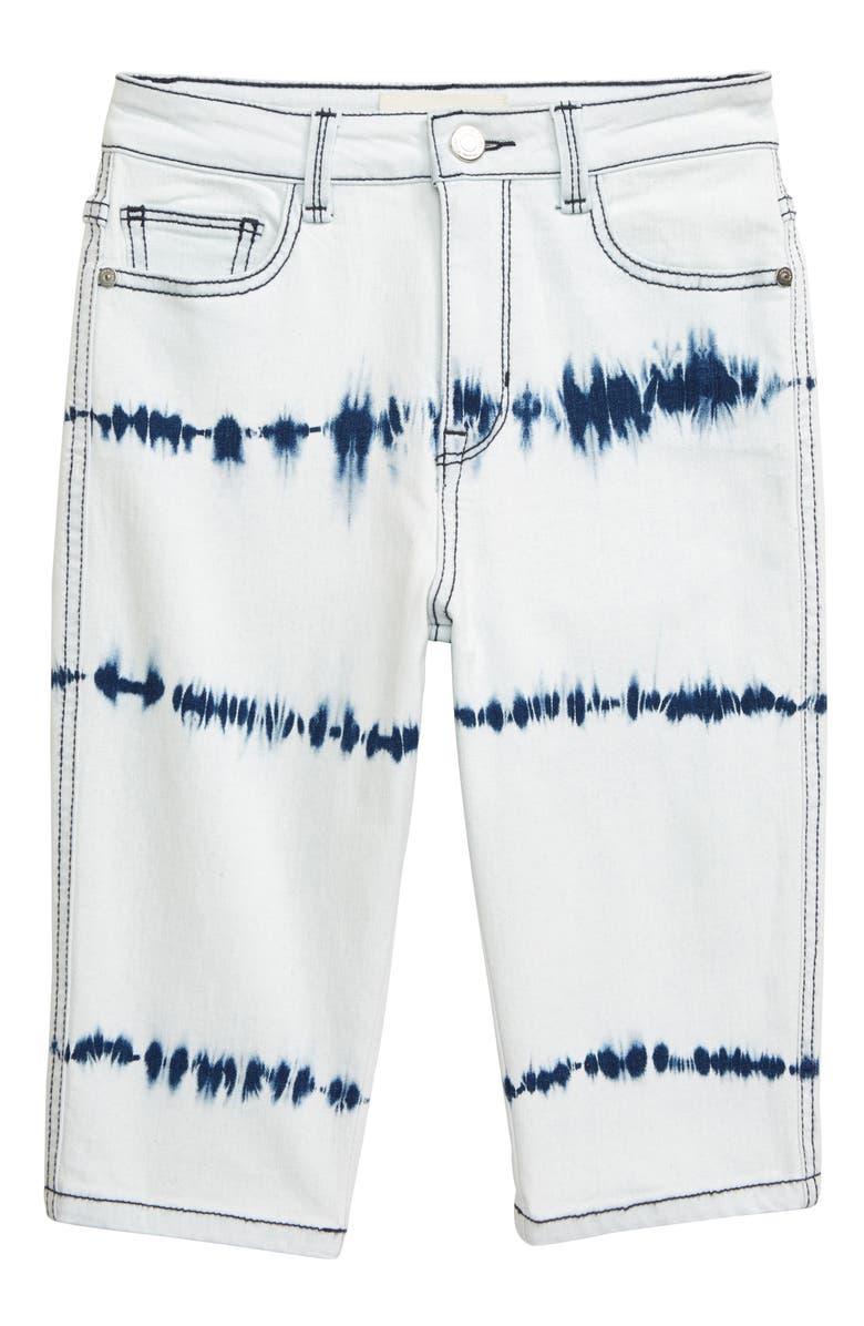 HABITUAL GIRL Extreme Wash Bermuda Shorts, Main, color, 424