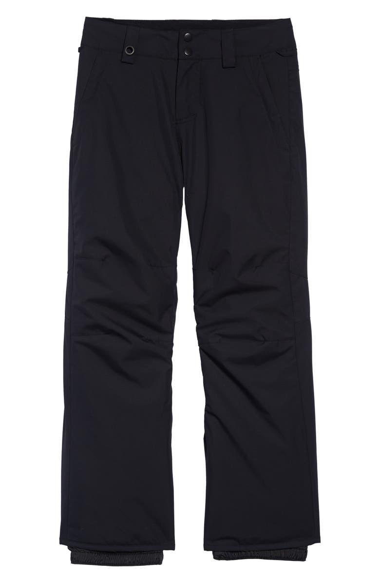 QUIKSILVER Estate Snow Pants, Main, color, BLACK