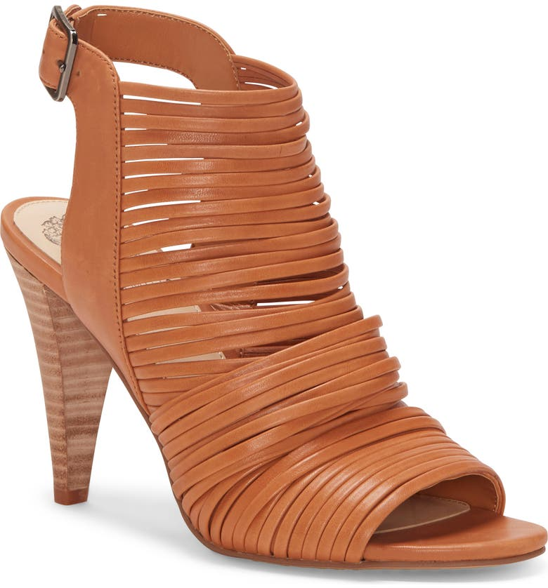 VINCE CAMUTO Adeenta Sandal, Main, color, WARM BRICK LEATHER