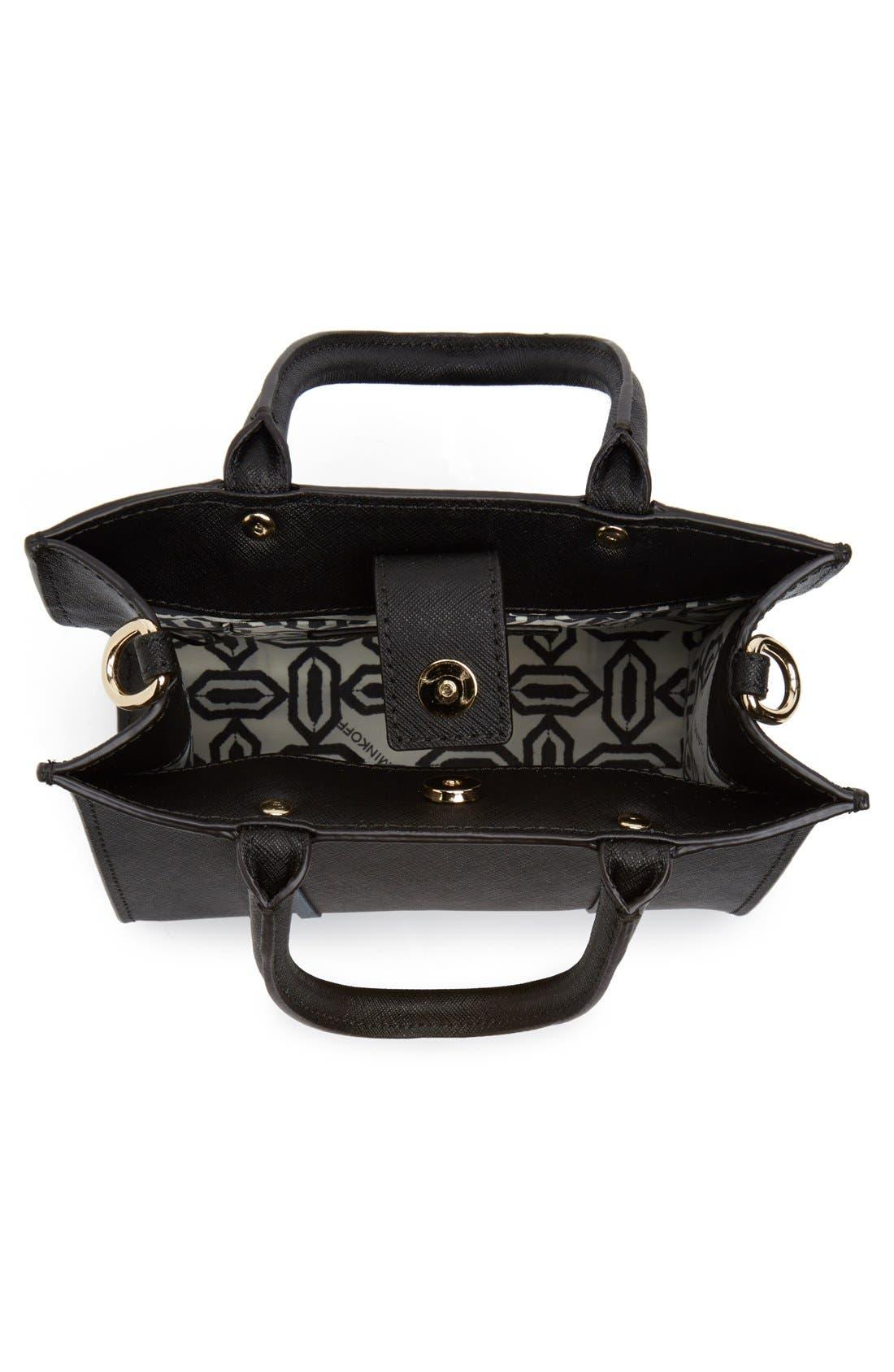 ,                             'Mini MAB Tote' Crossbody Bag,                             Alternate thumbnail 18, color,                             001